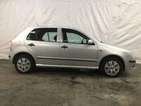 2006 Skoda Fabia 1.4 16v (100bhp) 5dr **MOT** Similar to Ford Fiesta Cheap Ca...
