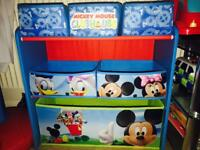 Mickey Mouse Storage, Bike & Carpet