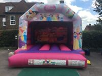PRINCESS BOUNCY CASTLE for hire / Popcorn & Candy Floss / Soft Play+ more / Essex & London