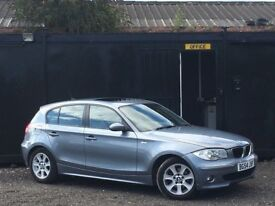 ★ BMW 1 SERIES 120i AUTOMATIC + SUNROOF + HEATED 1/2 LEATHERS + 10 MONTHS MOT ★