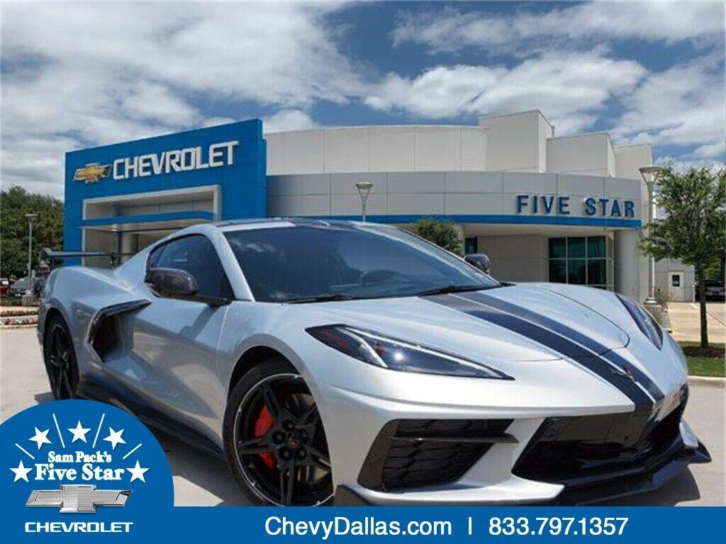 2021 Silver Chevrolet Corvette Stingray    C7 Corvette Photo 1
