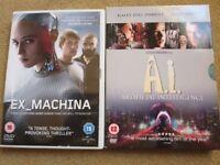 ARTIFICIAL INTELLIGENCE DVD BUNDLE – 2 ORIGINAL DVDs £1