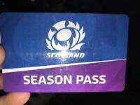 Rugby platinum season ticket!