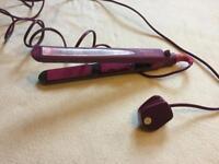 Hannah Montana straighteners purple used £4