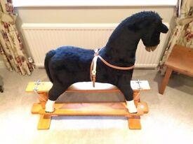 Black Rocking Horse by Thoroughbred