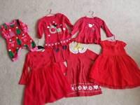 Christmas dresses, hardly worn