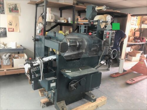 """Shiki PC-30 Label Press - 7"""" - 3 Color, Foil Stamping, Numbering and More"""