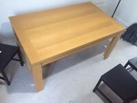 Great Condition - Lovely large pine effect wood Dining Table - ONLY £35