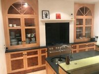 Entire Handmade Solid Wood Maple Kitchen for Sale