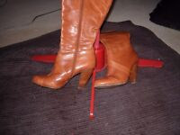Boots Faith leather size 6
