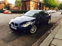 BMW 530d m sport 2005 auto wide satnav xenon dynamics liths