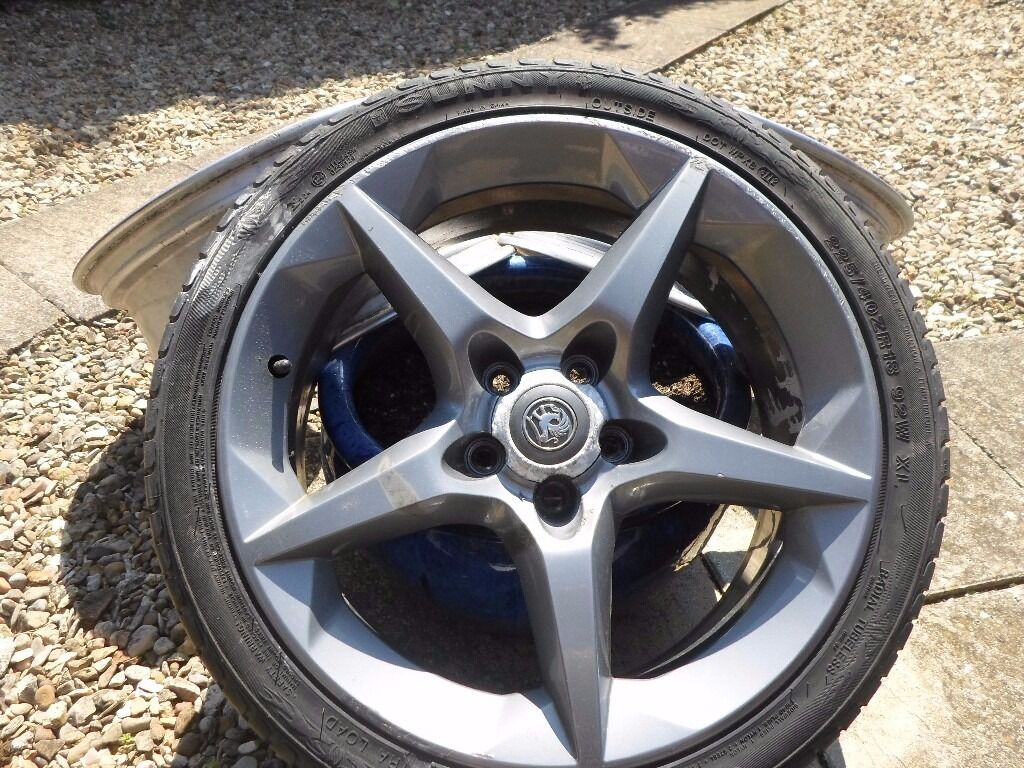 vauxhall alloy wheel