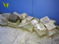 Garden rocks x 25 ideal for rockery, 15-20kg each, Coll from stockport