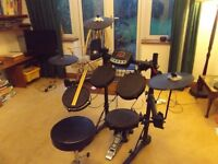 Bentley TD82 electronic drum kit