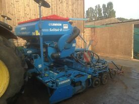 Lemken Solitair 8 seed drill 3m (not powerharrow) 2013