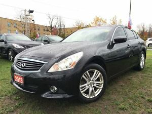 2013 Infiniti G37X AWD-Low KM's with Leather and Sunroof!!