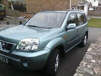 NISSAN X-TRAIL SPORT 2.2 TD 6 SPEED DEISEL. VERY RELIABLE AND ECONIMICAL. VGC