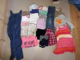 Girl bundle size 4-5 years