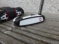 Odyssey Versa 90 Sabretooth Black putter - 34 inches. with Headcover