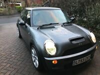Mini Cooper s with fsh top of the range bargain
