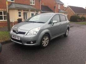 Toyota verso 7seaters