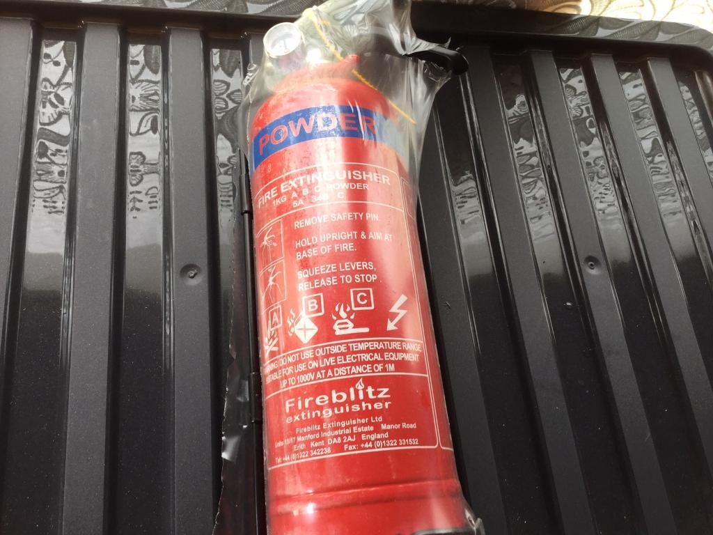 Powder Fire Extinguisher - Brand New