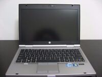 HP 2560p i7 2.7Ghz 8GB 128GB SSD Extended Battery Excellent Condition Charger Case