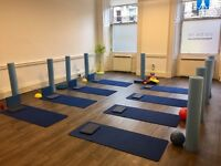 Studio for PIlates/Yoga to rent in Stockbridge great light room with all equipment.