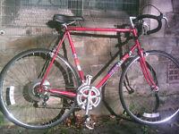 "Peugeot Elite Road Racing Bike Bicycle - good condition - 5ft 9"" PLUS"