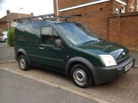 FORD TRANSIT CONNECT, GREAT CONDITION, HAS TOW BAR AND ROOF RACK