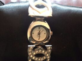 Chanel style ladies watch