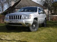 JEEP GRAND CHEROKEE 2.7 DIESEL 11 MONTHS MOT 4 GOOD TYRES