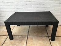 Rattan effect Garden/Conservatory Table