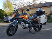 Suzuki V-strom DL650 LA2 19490 miles - Great Condition - Lots of extras - Ready for touring