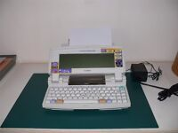 Canon Starwriter 550c Bubble Jet Word Processor