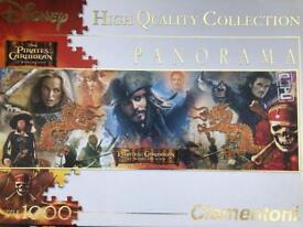 1000 piece Pirates of the Caribbean jigsaw