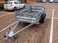 Car trailer FARO TRACTUS 8.6ft x 4.1ft Single Axle 750kg