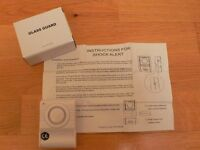 Glass Guard Window Alarm ideal for caravans and valuable equipment