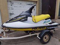 Polaris 1050cc Jetski with trailer non runner complete Bargain £695