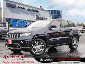 2018 Jeep Grand Cherokee ***CHRYSLER CANADA EXECUTIVE DEMO***STE