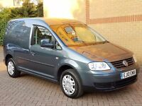VW CADDY 2010 1.9TDI DSG FAMILY OWNED FROM NEW FSH NEW MOT N SERVICE, WELL MAINTAINED VAN IN GREY