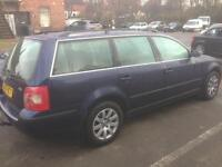 2005 Vw Passat Estate Tdi blue