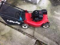 "Clarke 20"" cut self drive mower"