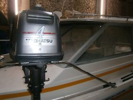 4 hp outboard