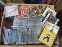 300 CD'S ALL TYPES OF MUSIC GOOD FOR CAR BOOT OR MARKET TRADERS