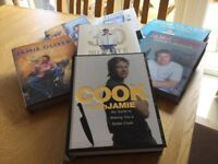 7 Jamie Oliver Cook books excellent condition