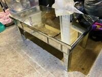 Large mirror coffee table