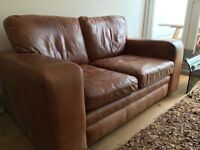 SOFA tanned soft leather