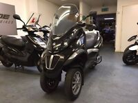 Piaggio Mp3 125cc Automatic Scooter, Black, 3 Wheeler, V Good Condition, ** Finance Available **