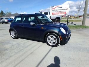 2006 MINI Cooper DOUBLE ROOF! HEATED LEATHER! AUTO! CERTIFIED!